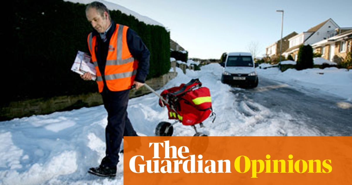 86a1f1b066 The not so jolly postman | Roy Mayall | Opinion | The Guardian