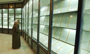 Baghdad Mosque Houses Saddam's Blood Koran