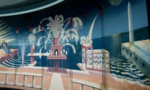 mural by Eric Ravilious