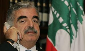 rafiq al-hariri former lebanese prime minister