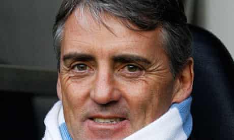 Roberto Mancini, Andy Carroll, Manchester City, Newcastle