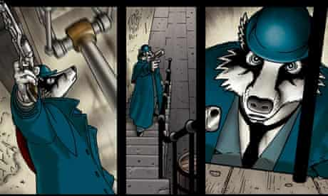 page from Grandville Mon Amour