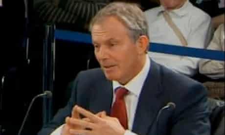 Tony Blair faces the Chilcot inquiry