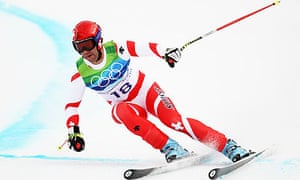 Didier d fago takes downhill gold for switzerland sport for Didier defago