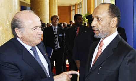 Sepp Blatter, Mohamed bin Hammam