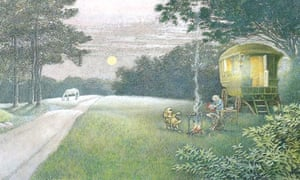 illustration by inga moore for wind in the willows