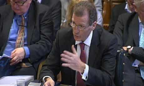 Cabinet secretary Sir Gus O'Donnell gives evidence to MPs on procedures for a hung parliament.
