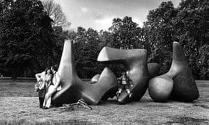 Henry Moore's Three Piece Sculpture: Vertebrae, 1968