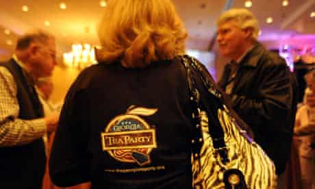 Cocktail hour at the national tea party convention