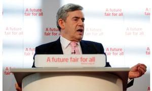 Gordon Brown launches Labour's general election pledges