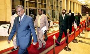 The Sudan People's Liberation Movement (SPLM) presidential candidate Yasir Arman