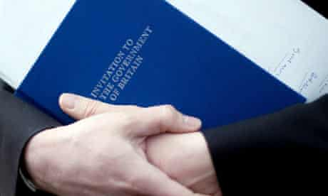 David Cameron launches Conservatives' manifesto.