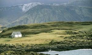 Isle of Canna Outer Hebrides Scotland UK