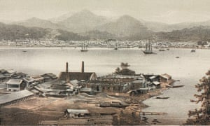 Nagasaki Bay, Japan, 1867.