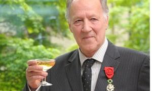 Officer medal for Werner Herzog