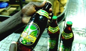 White Bull has been a bestselling lager in Juba, southern Sudan.
