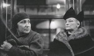 Walker Evans women on subway