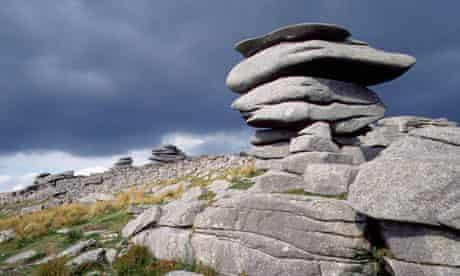 Granite Outcrops of Bodmin Moor, Cornwall