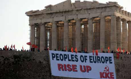 Protests Step Up Over Austerity Plan In Greece