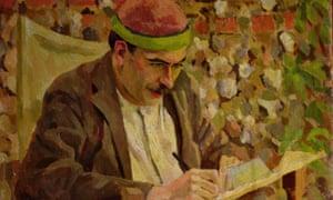J M Keynes by Roger Fry