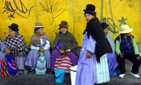 Women in bolivia
