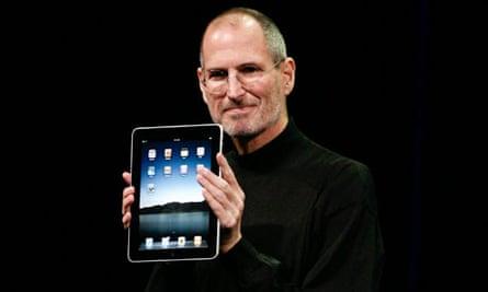Apple's Steve Jobs, iPad