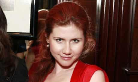 Suspected Russian spy Anna Chapman