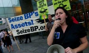 Seize BP protest