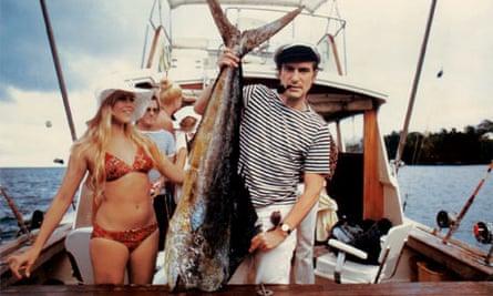 Barbi Benton and Hugh Hefner, Miami 1970