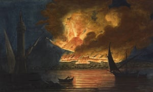A fiery scene from Sir William Hamilton's Observations on the Volcanoes of the two Sicilies