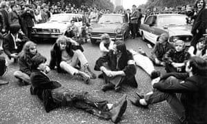 vietnam war protest park lane 1968