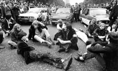 vietnam war protest park lane 1968