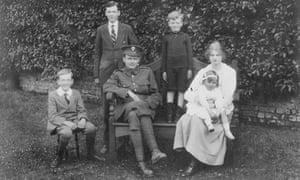 Greene family photo Graham on left