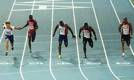 Christophe Lemaitre, Dwain Chambers, Mark Lewis-Francis