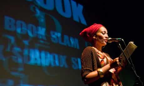 Zadie Smith at Boolslam event