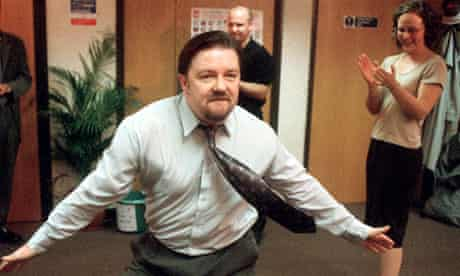 David Brent, played by Ricky Gervais in The Office