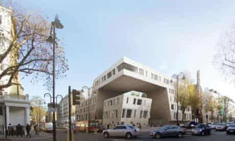Design for the new embassy of Iran