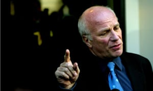 Greg Dyke immediately following his resignation from the BBC in 2004
