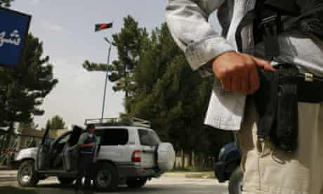 private security afghanistan
