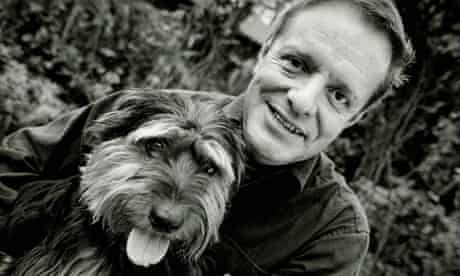 Robin Gibson and his dog Ted.