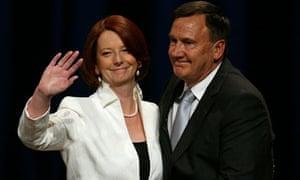 Australian Labor leader Julia Gillard
