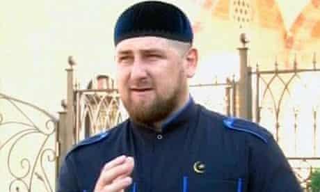 Ramzan Kadyrov, the Chechen president