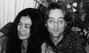 Yoko One and John Lennon 1977