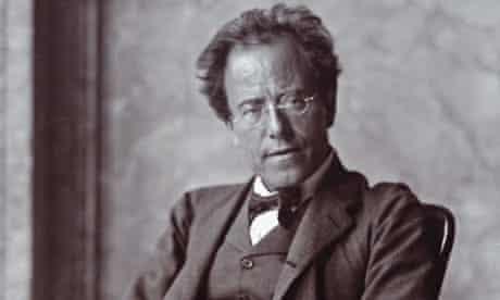 The Austrian composer Gustav Mahler. Photograph by Moriz N hr. 1907.
