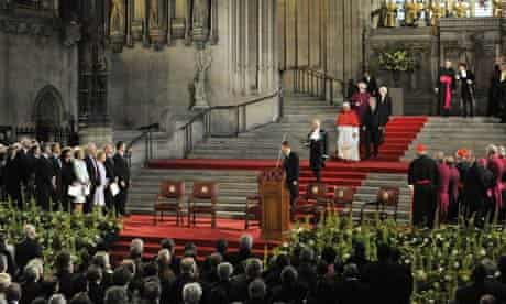 Papal visit to UK - Day Two