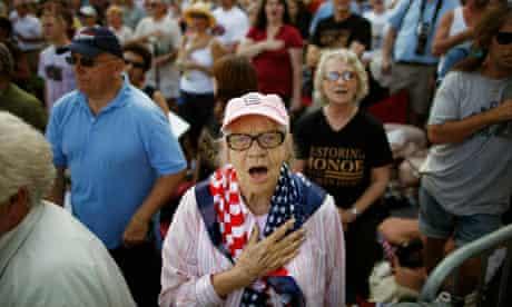 """Restoring Honor"" rally"