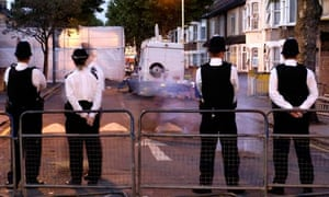 POLICE Terror forest gate