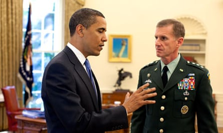 New Commander for U.S. Forces in Afghanistan