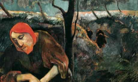 Christ in the Garden of Olives by Gauguin