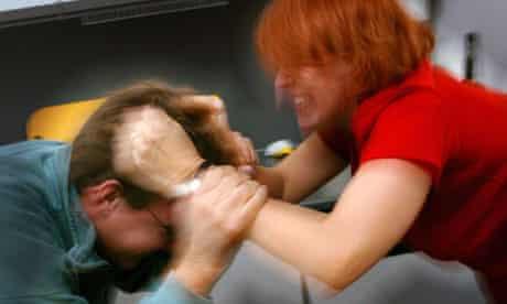 DOMESTIC VIOLENCE BY WOMEN AGAINST MEN